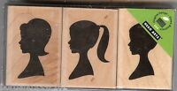 Hero Arts Rubber Stamp New LP-195 3 Silhouettes  S11