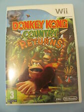 JEU NINTENDO WII @@ DONKEY KONG COUNTRY RETURNS @@ COMPLET @@ PAL
