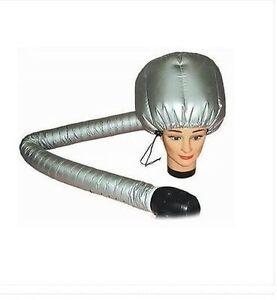 SALON HAIRDRESSING Portable Hair Dryer ADJUSTABLE dryer Bonnet Attachment cap UK
