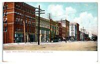 1910 Seven Hundred Block, Broad Street, Augusta, GA Postcard *4V