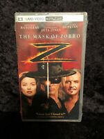 The Mask Of Zorro UMD Video For PSP [Brand New]