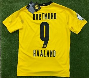 Dortmund Trikot Gr. L - BVB - Pokalfinale 2021 mit Patch Final DFB NEU Haaland