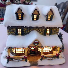 Hawthorne Village From the Heart Gifts H3060 Lighted Christmas Village House EUC
