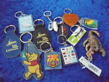 Key Rings Mixed All Very Very Nice Includes Two Leather Lifeboat Ones & a Winnie