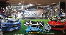 MUSCLE MACHINES 1:18 02 ACURA RSX DIECAST CAR 71198 TUNE IT 2002