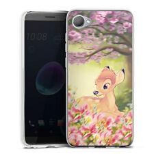 HTC Desire 12 Silikon Hülle Case handyhülle - Cute Bambi