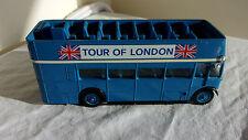 BUS A IMPERIALE ANGLAIS TOUR OF LONDON SOLIDO 1/50 NUMERO 4402