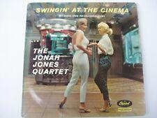 JONAH JONES - Swingin' At The Cinema - CAPITAL MONO LP