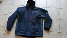 GILL HOODED GREY / BLACK JACKET,SIZE XXL,STYLE # IN92J