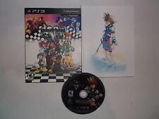 Kingdom Hearts HD 1.5 Remix Bundle (Sony PlayStation 3, 2013) COMPLETE w/ Manual