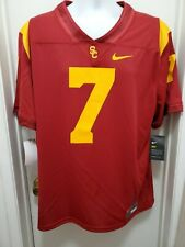 USC Trojans New Nike College Football Home Game Jersey Men's XL