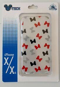 NEW DISNEY PARKS D-TECH MINNIE MOUSE BOWS iPhone  Xs MAX CASE