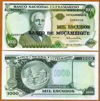 Mozambique, 1000 escudos, ND (1976), P-119, UNC -> large