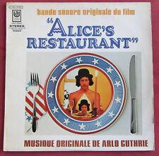 ALICE'S RESTAURANT LP ORIG FR BOF OST ARLO GUTHRIE