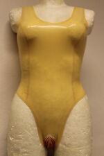 Rubber Latex Damen Sexy Body Badeanzug Mit Vaginal, und Anal Kondom  Gr.XS-XXL
