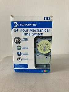 Interermatic T103 24 Hour Mechanical Time Switch