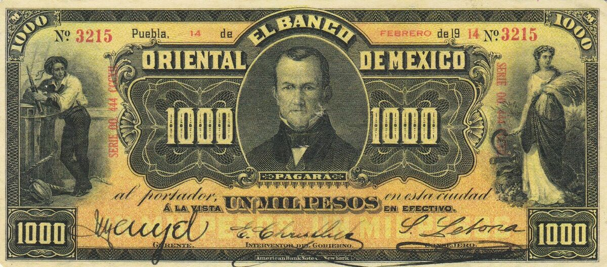 Mexico Past Coin Paper Money