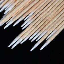 Maquillaje cosmético Microblading de madera Swab de algodón Bud Cosmetic Stick.