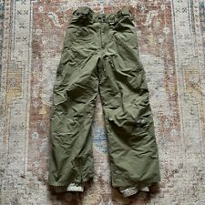 Burton Snow Pants - Green Snow Ski Boys Size M