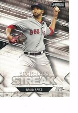 "2017 Stadium Club Scoreless Streak 5""x7"" 01/49 David Price Boston Red Sox"