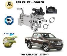 para VW Amarok 2.0 TDI 2010> Nuevo Eléctrico Válvula EGR + ESCAPE GAS Enfriador