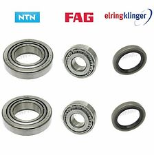 2x Front Wheel Bearing Kit inner outer seal left right For Porsche 944 930 924