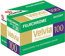 Fuji Professional Velvia 100 35mm Slide Film 36exp