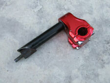 Anodized Red Stem/Quill for BMX Bicycles