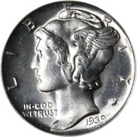 1939-D Mercury Dime Great Deals From The Executive Coin Company
