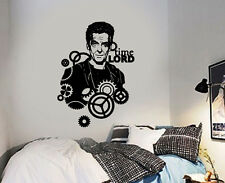 Dr Who Peter Capaldi Time Lord Wall Sticker Icon Wall Decal Art Sticker