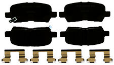 Disc Brake Pad Set-Ceramic Disc Brake Pad Rear ACDelco Advantage 14D999CHF1