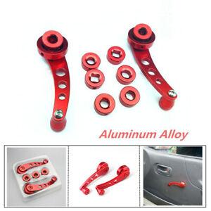 Aluminum Alloy Car Window Shake Van Modified Glass Manual Lifter Hand Crank Part