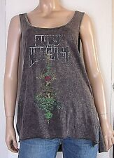 WE THE FREE 1839 Womens Size Medium Graphic Heathered Casual Tank Top