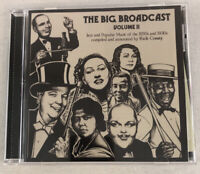 The Big Broadcast Volume 11 CD - no scratches on disc