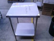 NEW COMMERCIAL GRADE 304 STAINLESS STEEL (600X600mm) HEAVY DUTY KITCHEN BENCH