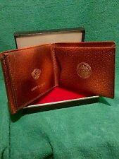 RARE Anson Gentleman's Pocket Wallet w/12k Gold Signet Mando Paper Co 1946 **