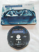 CORRUPCION EN MIAMI VICE COLIN FARRELL DVD STEELBOOK + EXTRAS ESPAÑOL ENGLISH AM