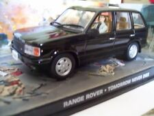 "RANGE ROVER from Movie ""TOMORROW NEVER DIES"" JAMES BOND 007 1/43 DIORAMA NEW"