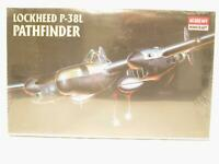 1/48 Academy P-38L Pathfinder Lightning Plastic Scale Model Kit Factory Sealed