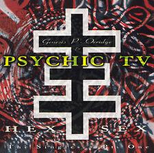 GENESIS P-ORRIDGE and PSYCHIC TV - CD - HEX SEX - THE SINGLES Pt. ONE