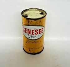Scarce Genesee Beer Light Lager 12 Oz Flat Top Beer Can Rochester NY ORIGINAL