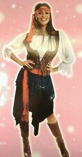 Sexy Adulto Talla Plus Pirata Del Caribe ladies/lady Fancy Dress outfit/costume Nuevo