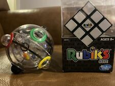 Rubix Toys 360 Clear Puzzle Ball Solver Rare Great Condition, Rubik's Cube New
