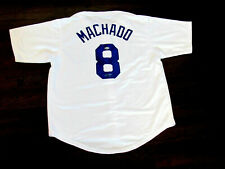 MANNY MACHADO LOS ANGELES DODGERS PADRES SIGNED AUTO HOME JERSEY BECKETT BEAUTY