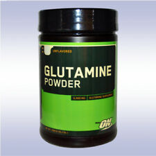 OPTIMUM NUTRITION GLUTAMINE POWDER (1000 G) unflavored muscle recovery aminos on