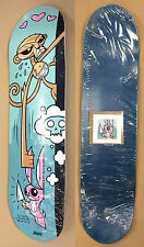 Joe Ledbetter 2005 Monkey Skateboard Deck Print Monkey Bunny 45/50 RARE SIGNED