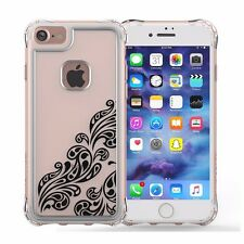 Black/Clear Drop Safe Cover for iPhone 6S/7/8 Jewel Essence Case by Ballistic