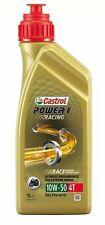 Castrol Power 1 Racing 10w50 1L Olio motore Yamaha BMW Suzuki Honda Kawasaki