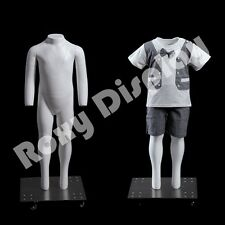 Fiberglass Kid 2 yrs Invisible Ghost Mannequin Dress Form Display #Mz-Ghk2