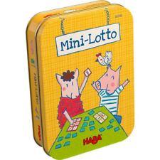 Mini Lotto HABA 303702 Reisespiel Spiel für Urlaub Ab 4 Jahren + BONUS